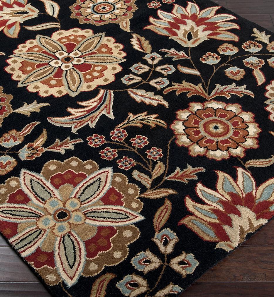 Surya - Athena Floral Print Hand Tufted Rug