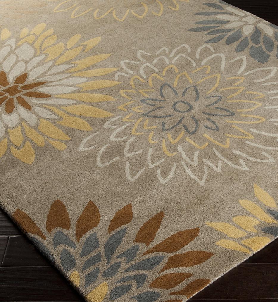 Surya - Athena Modern Floral Hand Tufted Rug