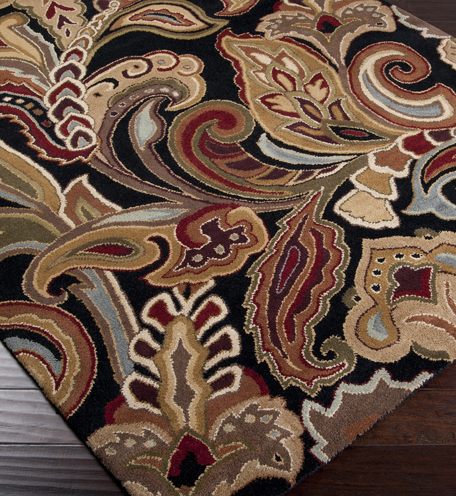 Surya - Aurora Floral and Paisley Hand Tufted Rug