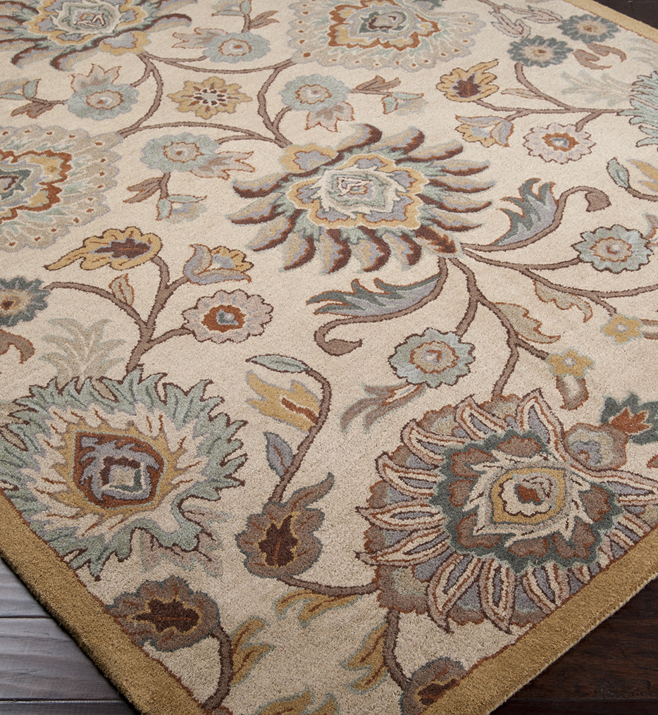 Surya - Caesar Floral Traditional Hand Tufted Rug