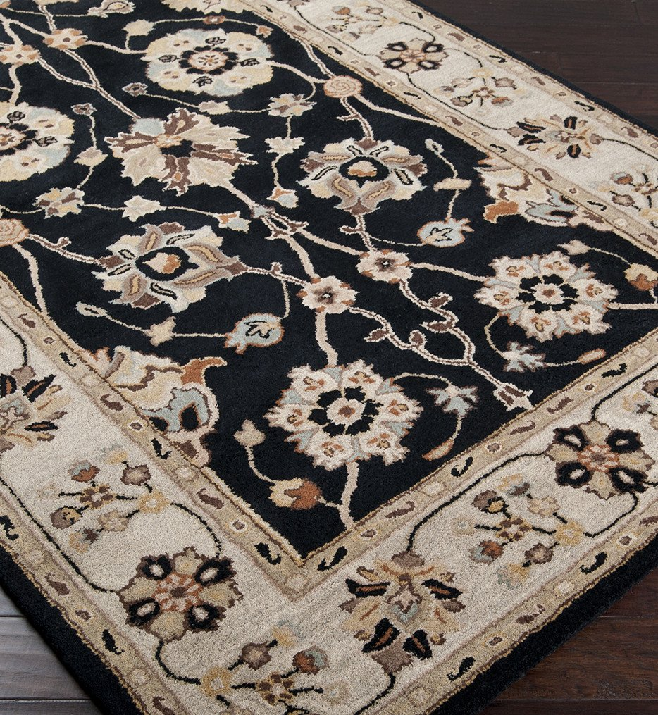 Surya - Caesar Floral Vines Traditional Hand Tufted Rug