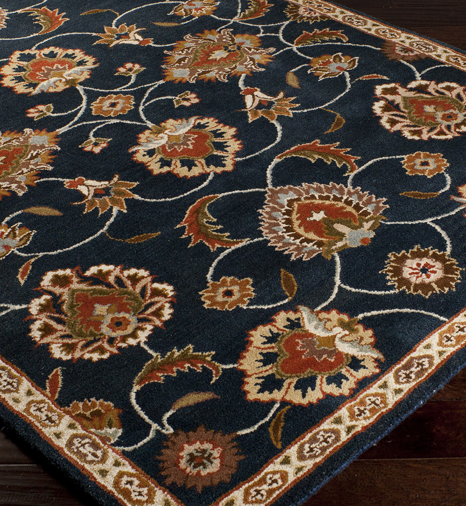 Surya - Caesar Traditional Narrow Light Border Hand Tufted Rug