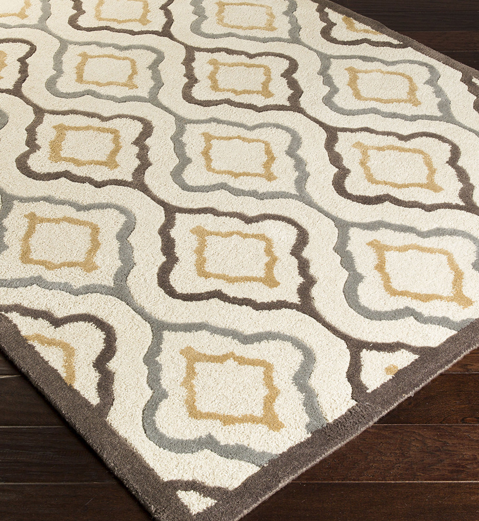 Surya - Modern Classics Medallion Traditional Hand Tufted Rug