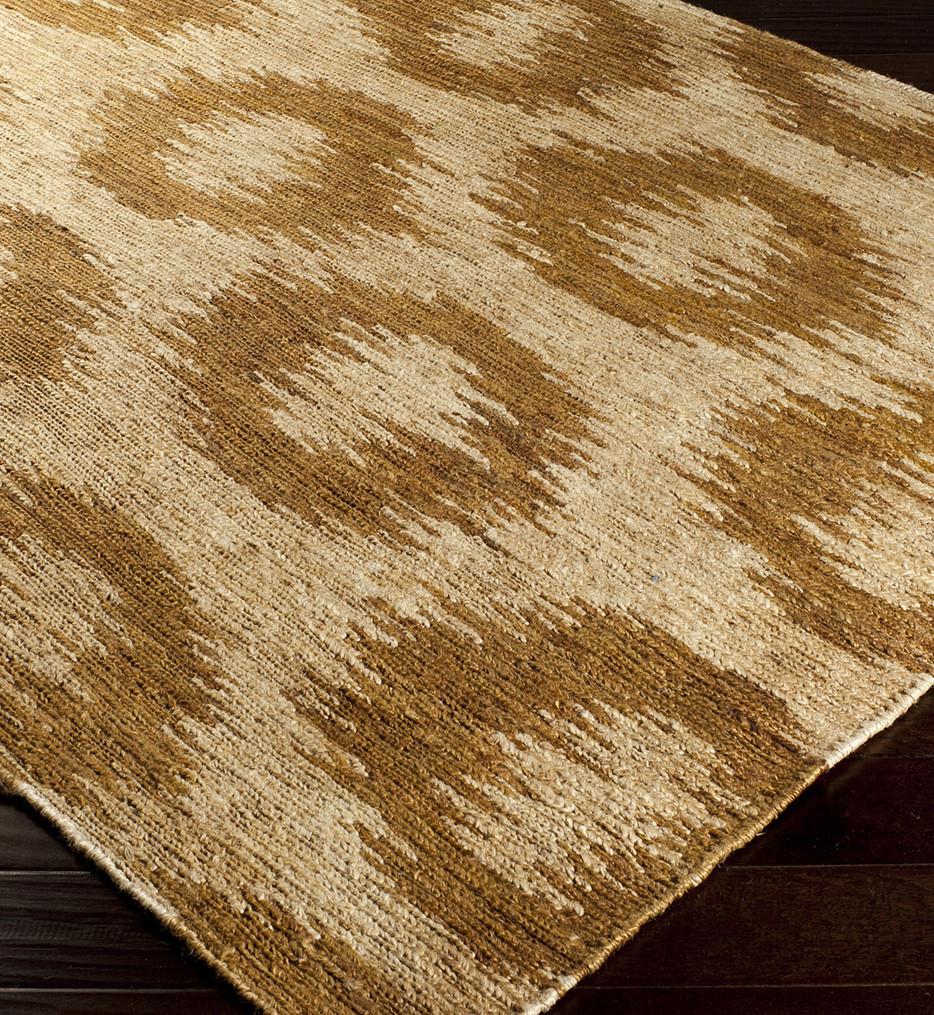 Surya - Columbia Impressionist Ovals Natural Fiber Textures Hand Woven Rug