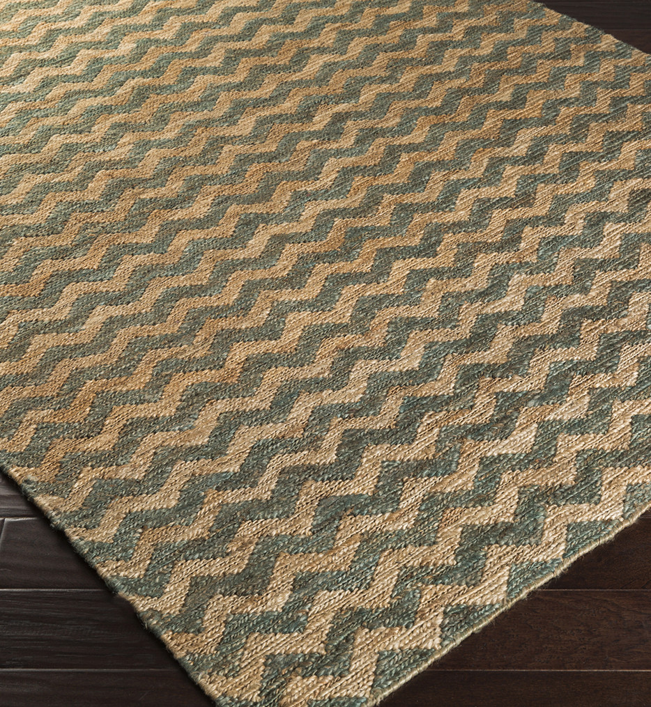 Surya - Columbia Chevrons Natural Fiber Textures Hand Woven Rug