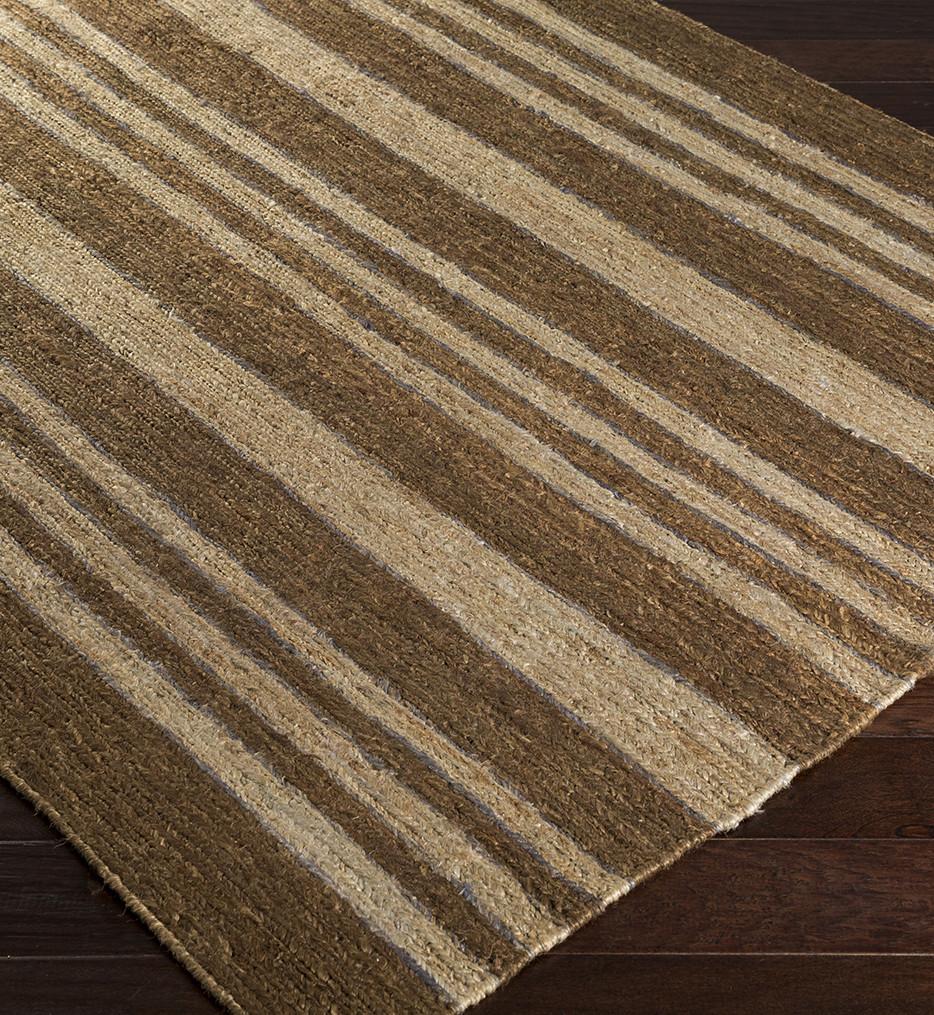Surya - Columbia Striped Natural Fiber Textures Hand Woven Rug