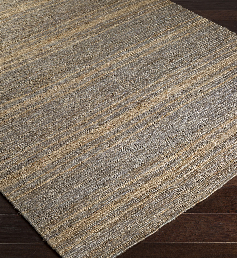 Surya - Columbia Subdued Stripe Natural Fiber Textures Rug