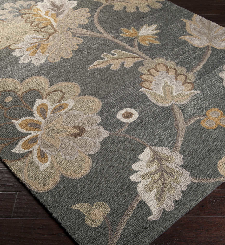 Surya - Calypso Floral Transitional Hand Tufted Rug