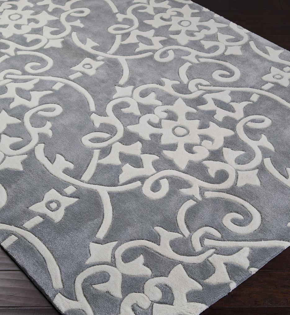 Surya - Cosmopolitan Paisley and Damask Hand Tufted Rug
