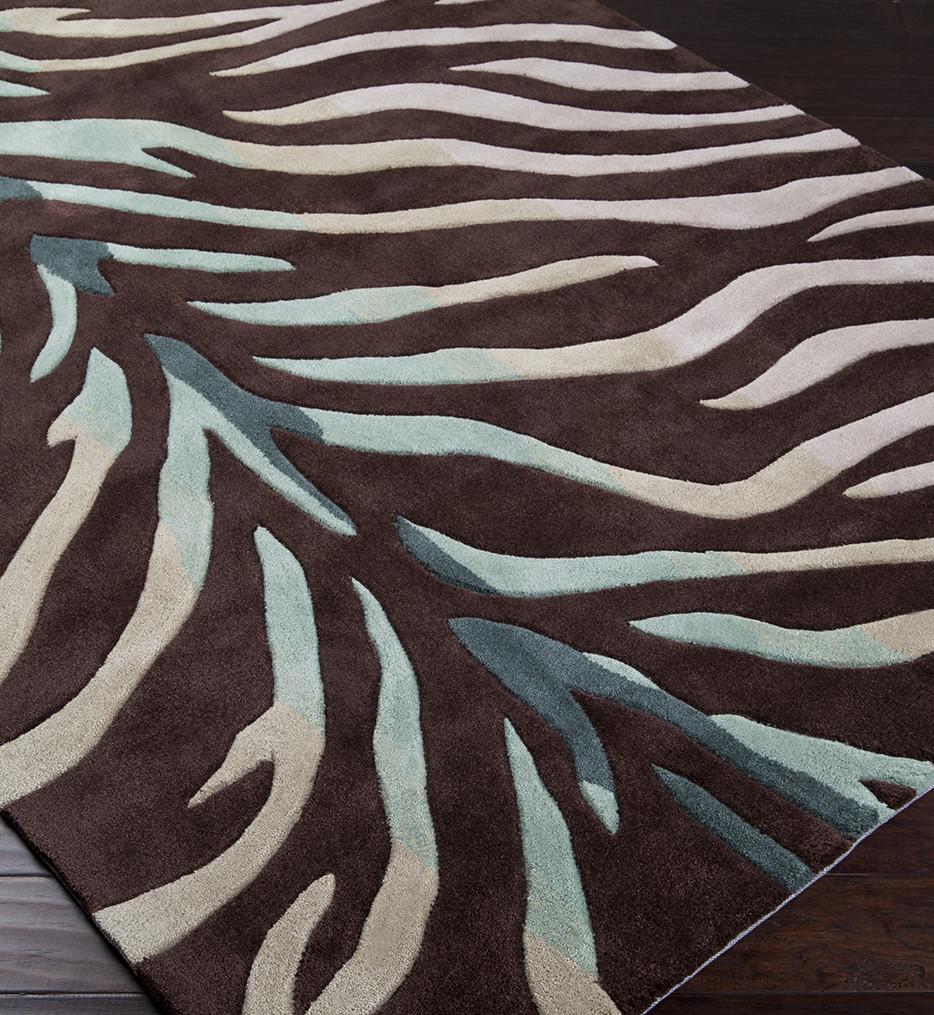 Surya - Cosmopolitan Zebra Print Hand Tufted Rug