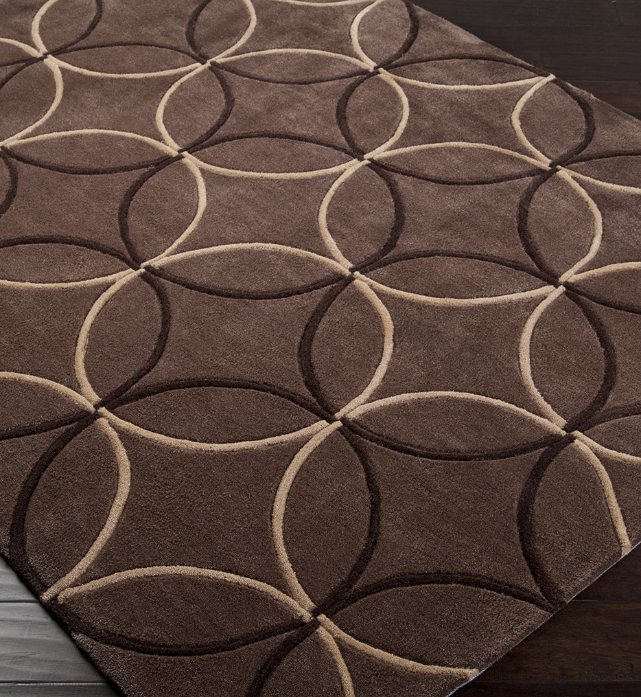 Surya - Cosmopolitan Overlapping Circles Hand Tufted Rug