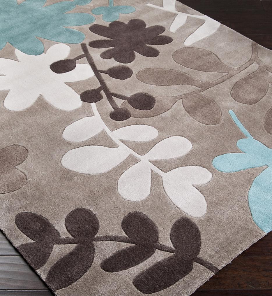 Surya - Cosmopolitan Floral Hand Tufted Rug