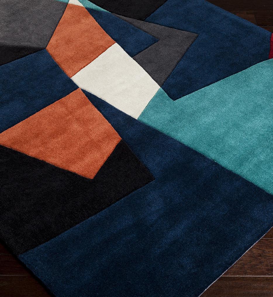 Surya - Cosmopolitan Juxtapositioned Hand Tufted Rug