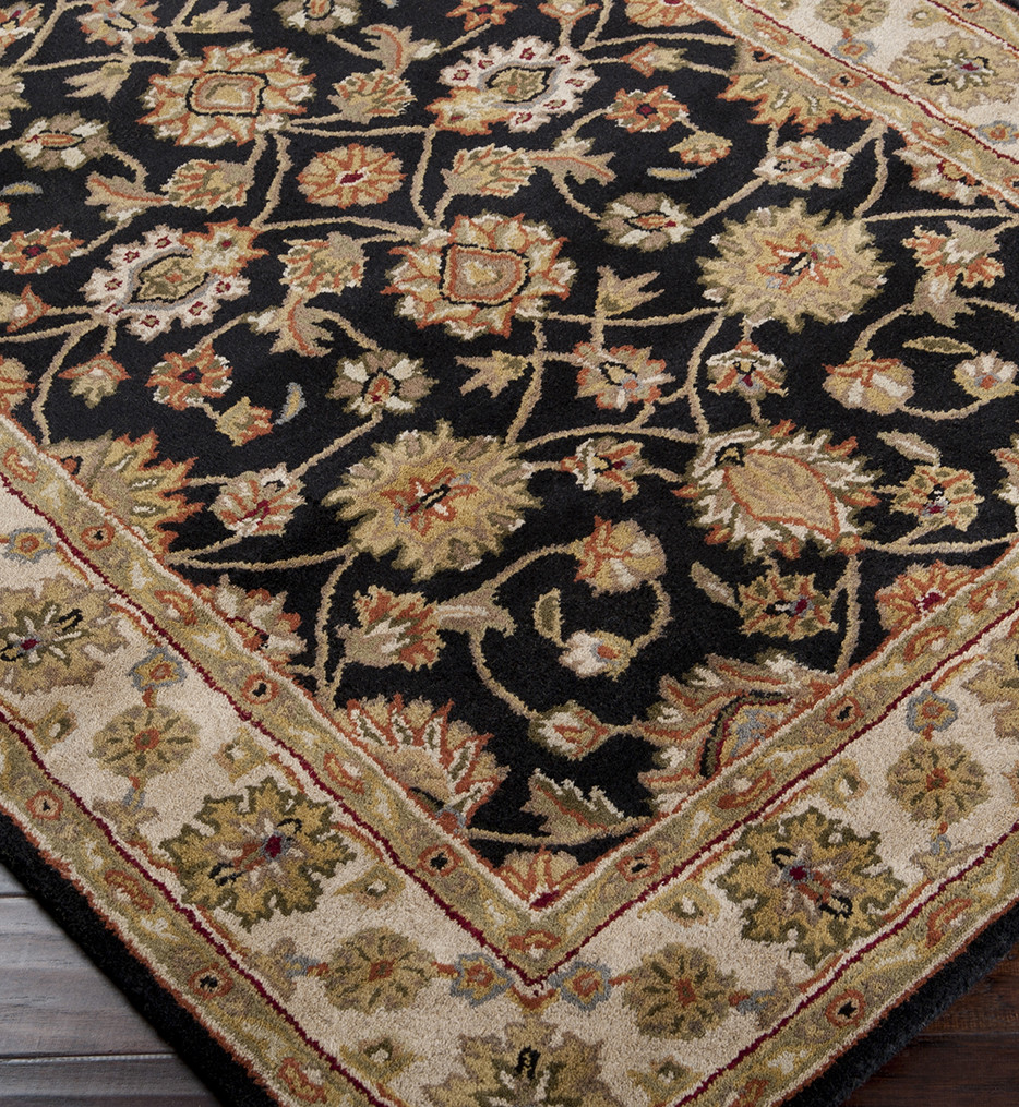 Surya - Crowne Traditional Hand Tufted Dark Forest Rug