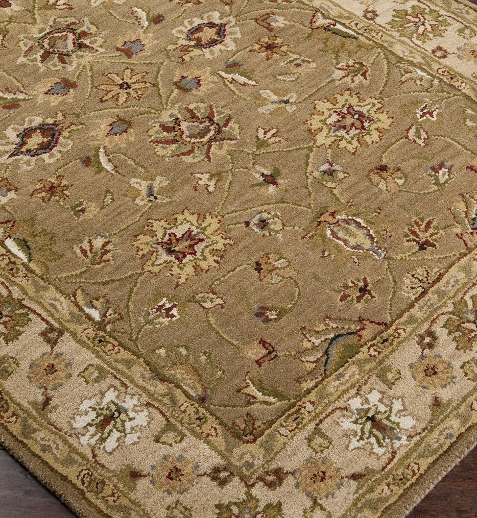 Surya - Crowne Traditional Hand Tufted Taupe Rug