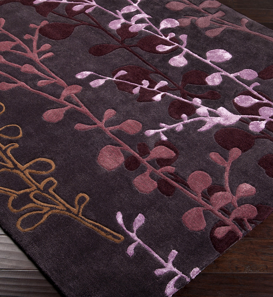 Surya - Cosmo Ultra Floral and Paisley Hand Tufted Rug