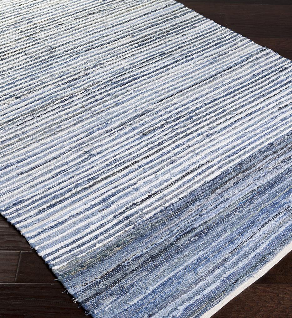 Surya - Denim Lines Natural Fiber Textures Hand Loomed Rug