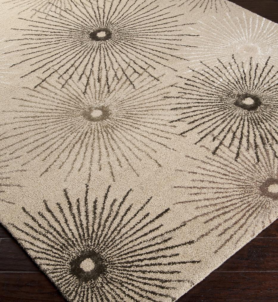 Surya - Essence Floral Starburst Hand Tufted Rug