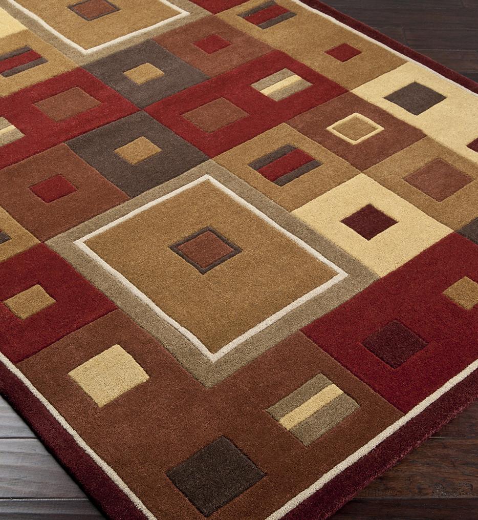 Surya - Forum Modern Squares Hand Tufted Rug