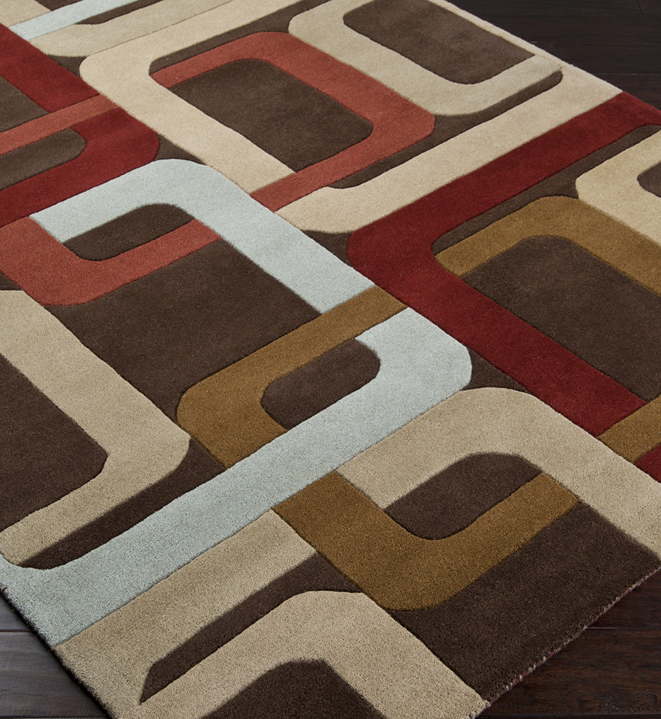 Surya - Forum Retro Squares Hand Tufted Rug