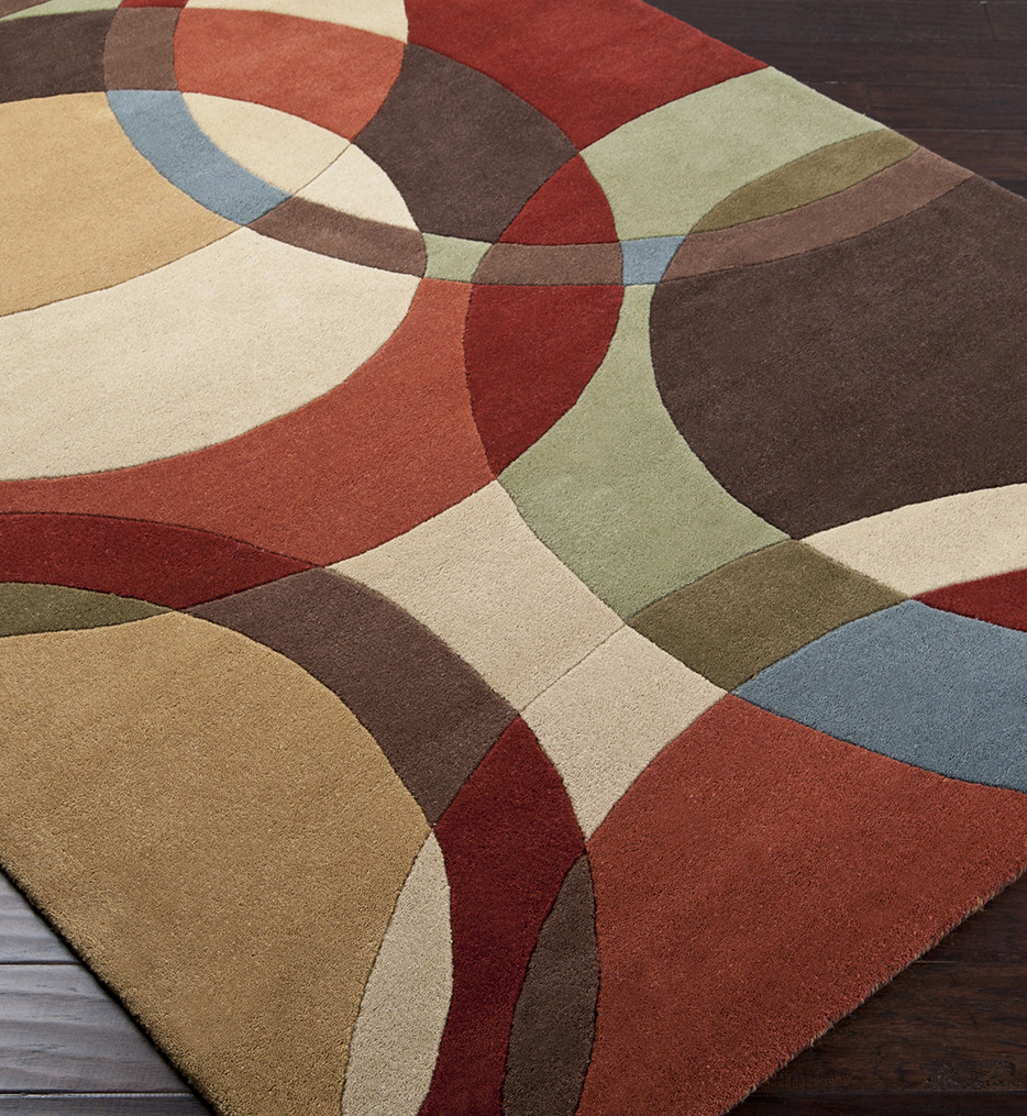 Surya - Forum Modern Rings Hand Tufted Rug