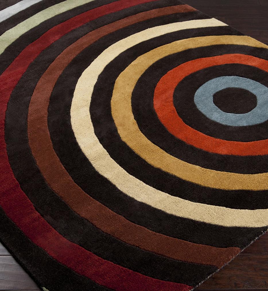 Surya - Forum Expanding Circles Hand Tufted Rug