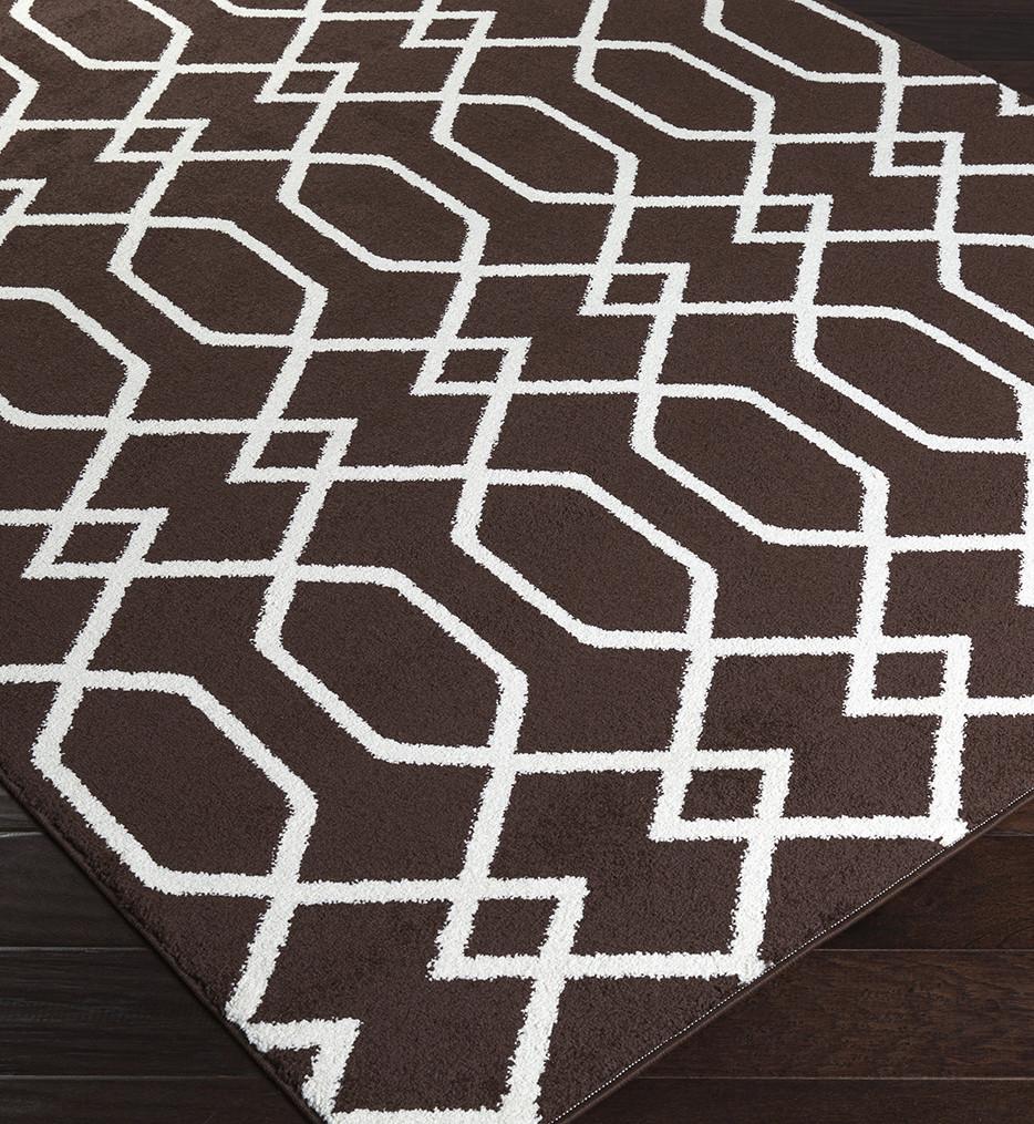 Surya - Horizon Geometric Weave Rug