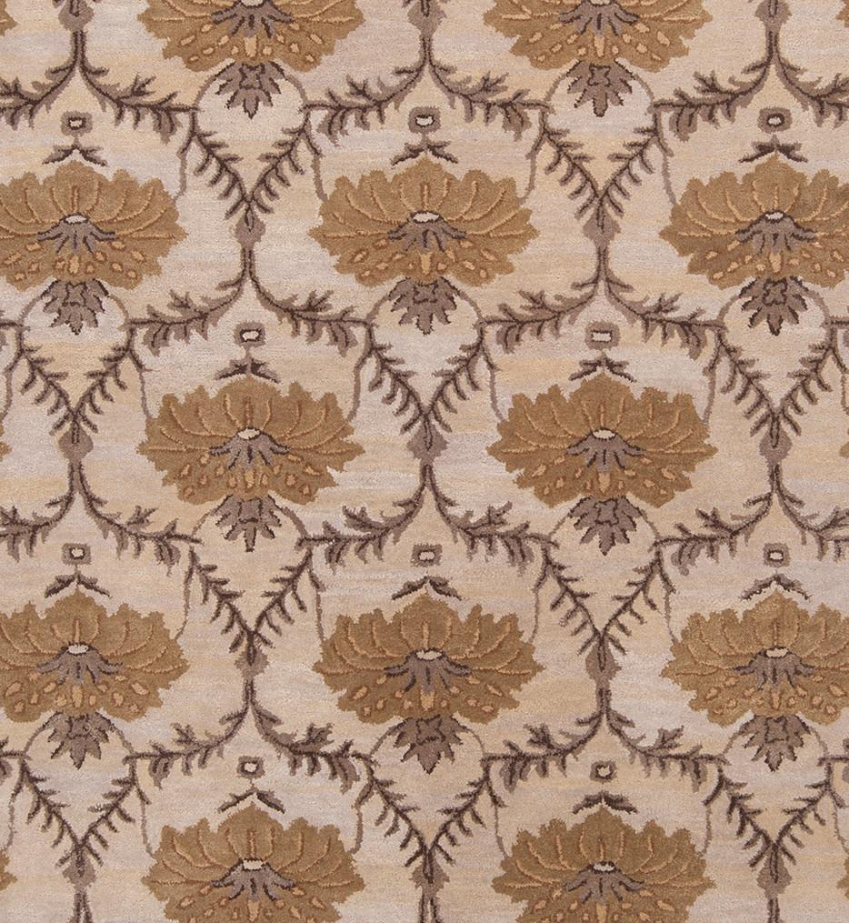 Surya - MTO7001-23 - Mentone 2' by 3' Beige Hand Tufted Rug
