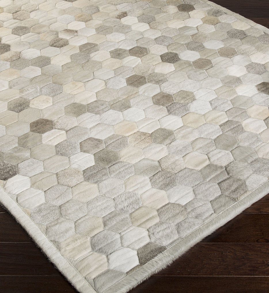 Surya - Polar Hides and Leather Hand Crafted Rug