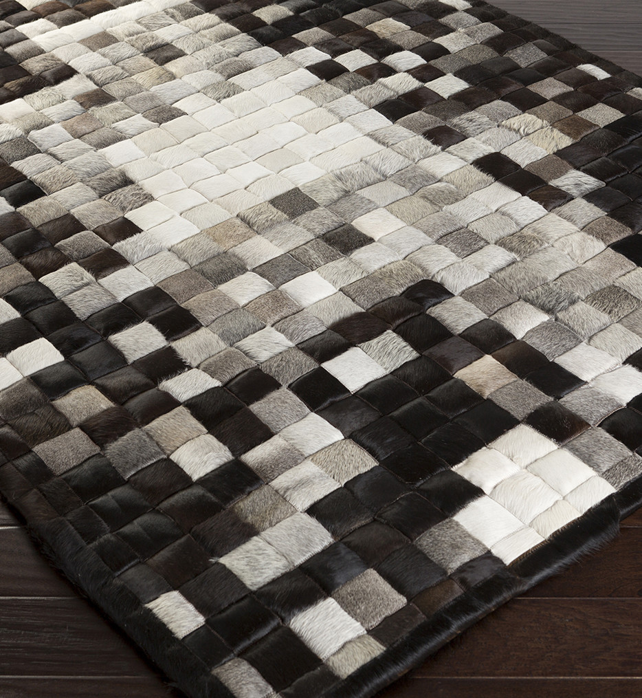 Surya - Paint Hides and Leather Hand Crafted Rug