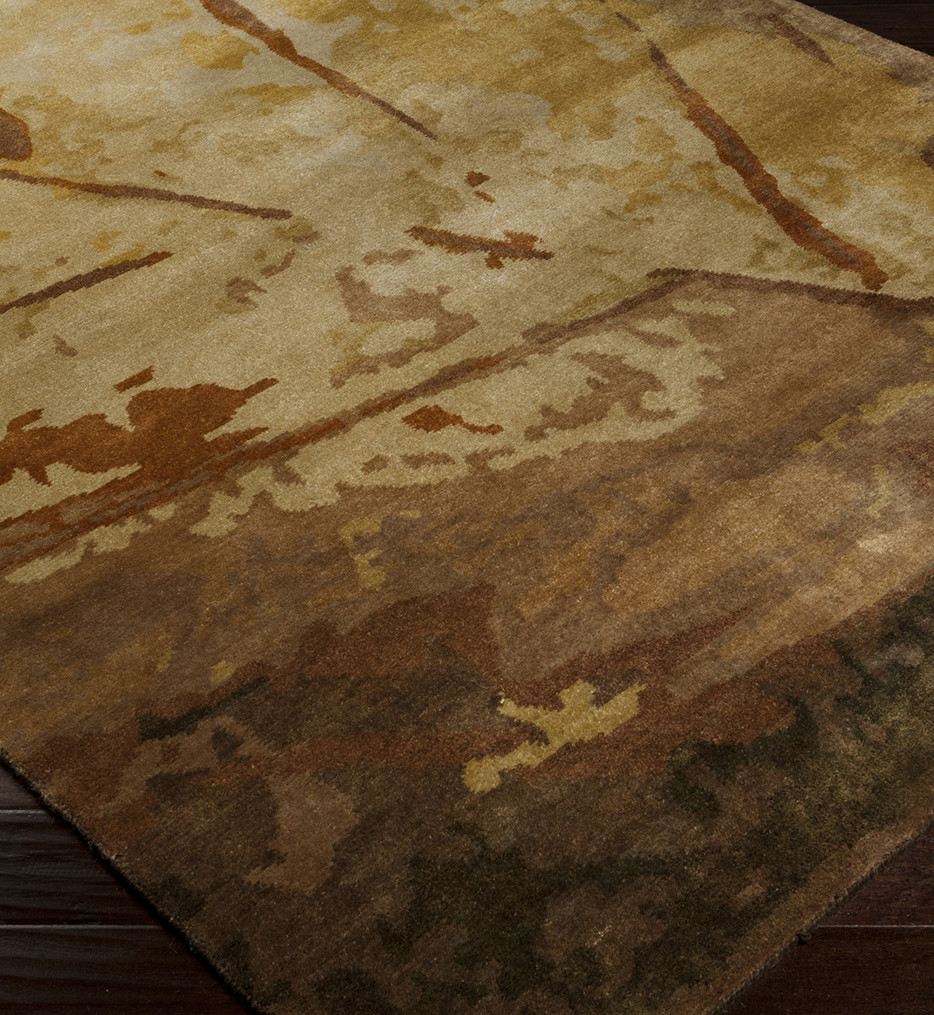 Surya - Sonora Floral and Paisley Hand Knotted Rug