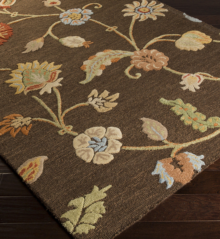 Surya - Sprout Floral and Paisley Hand Tufted Rug