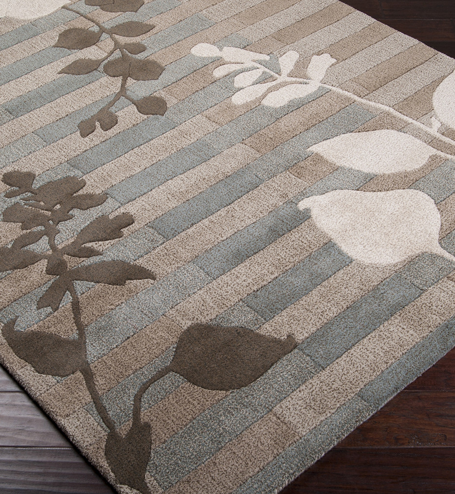 Surya - Stella Smith II Floral and Paisley Hand Tufted Rug