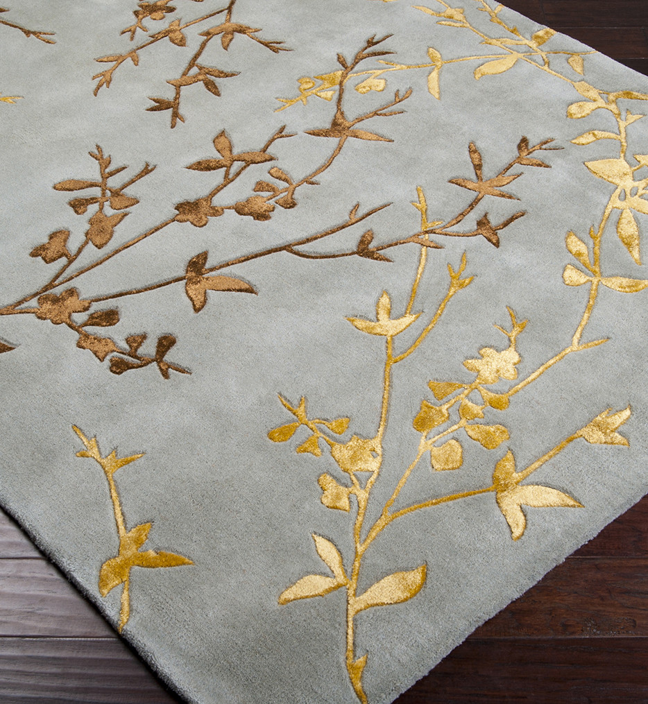 Surya - Tamira Branch Floral and Paisley Hand Tufted Rug