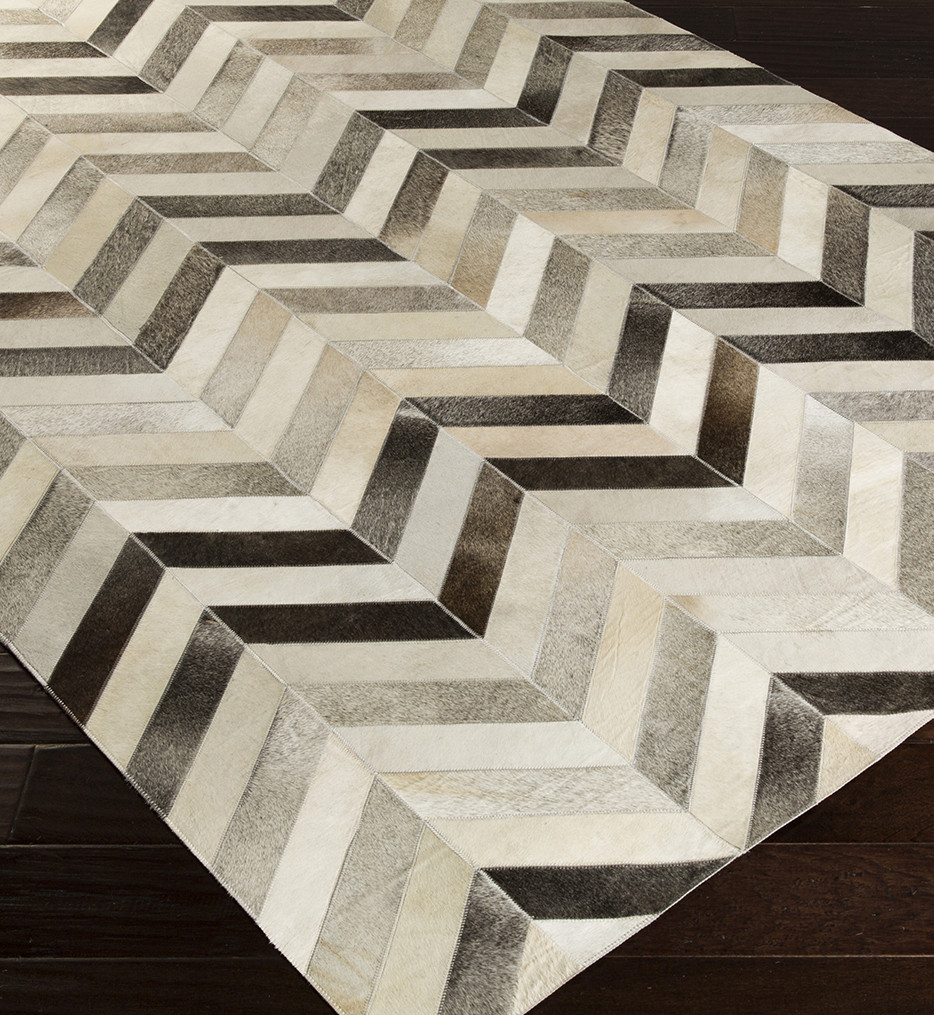 Surya - Trail Hides and Leather Hand Crafted Rug