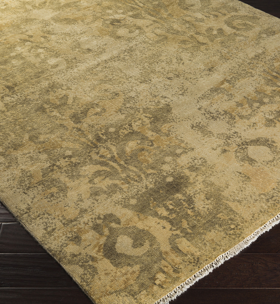 Surya - Uncharted Medallion and Damasks Hand Knotted Rug