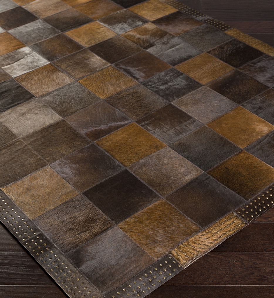 Surya - Vegas Hides and Leather Hand Crafted Rug