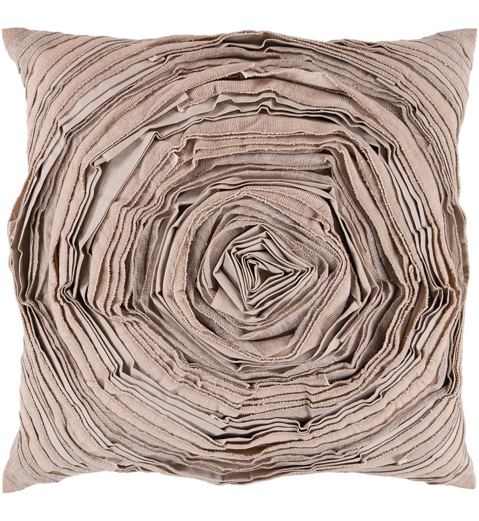 Surya - Large Flower Decorative Pillow