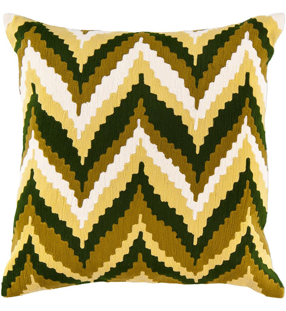Surya - Southwestern Chevrons Decorative Pillow