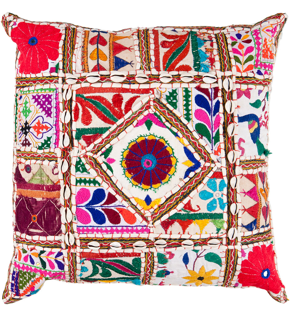 Surya - Wild Colors Decorative Pillow