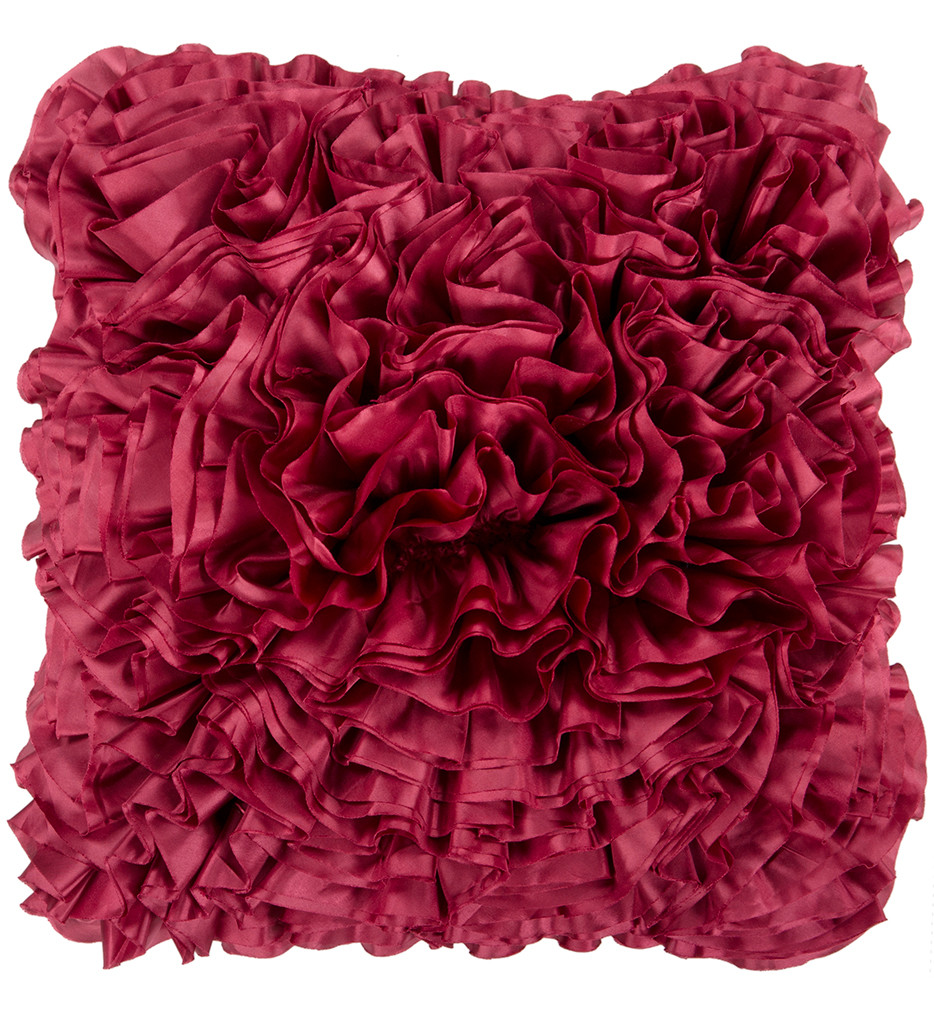 Surya - Ruffles Decorative Pillow