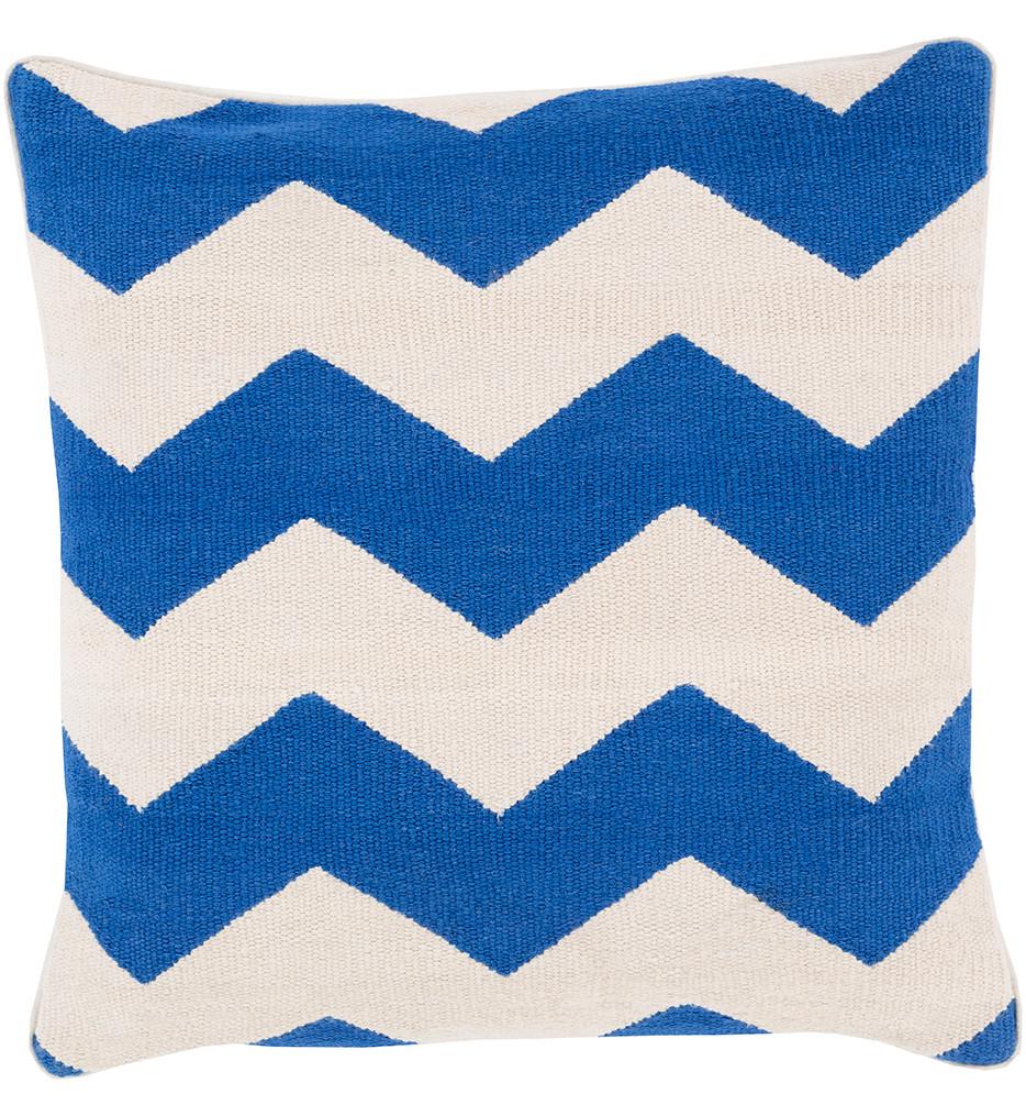 Surya - Wide Chevron Decorative Pillow