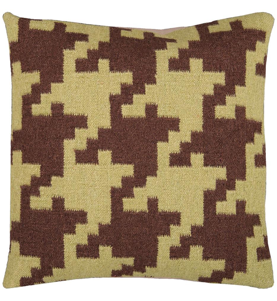Surya - Houndstooth Decorative Pillow