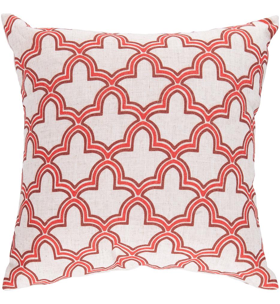 Surya - Fleur De Lis Decorative Pillow