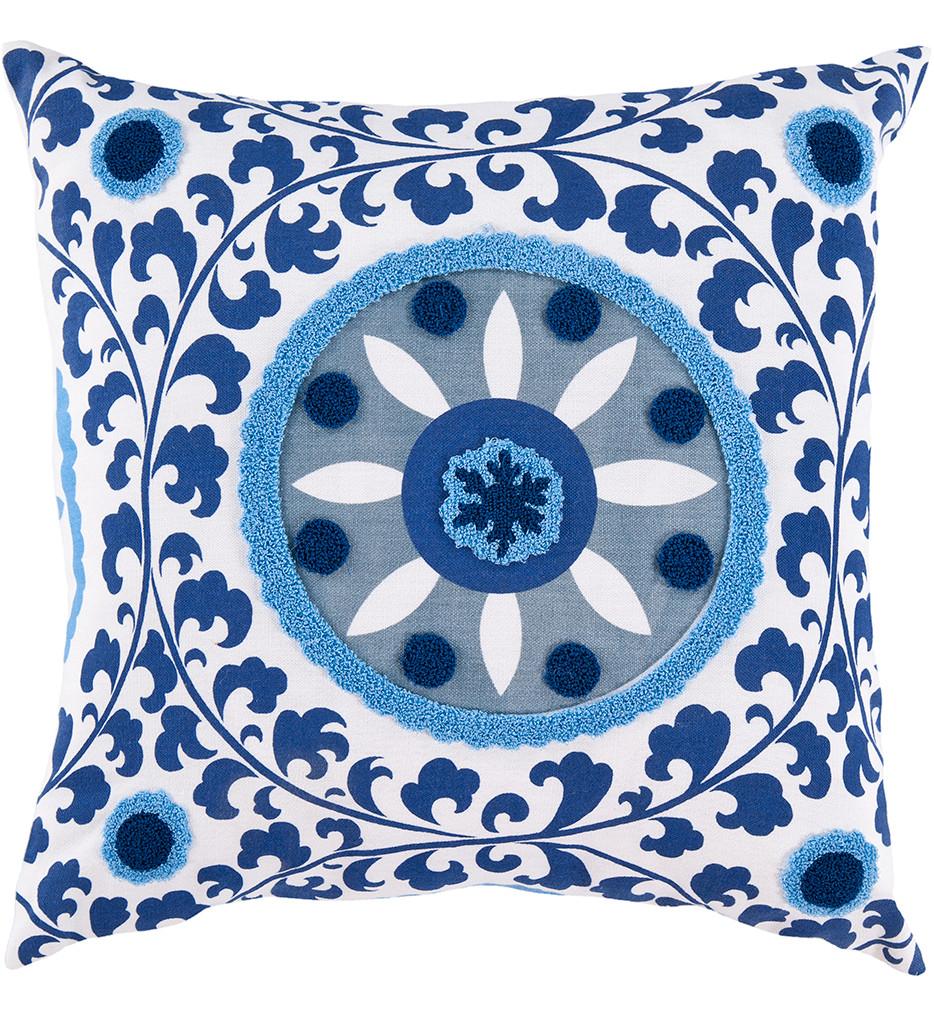 Surya - Circular Pattern Decorative Pillow