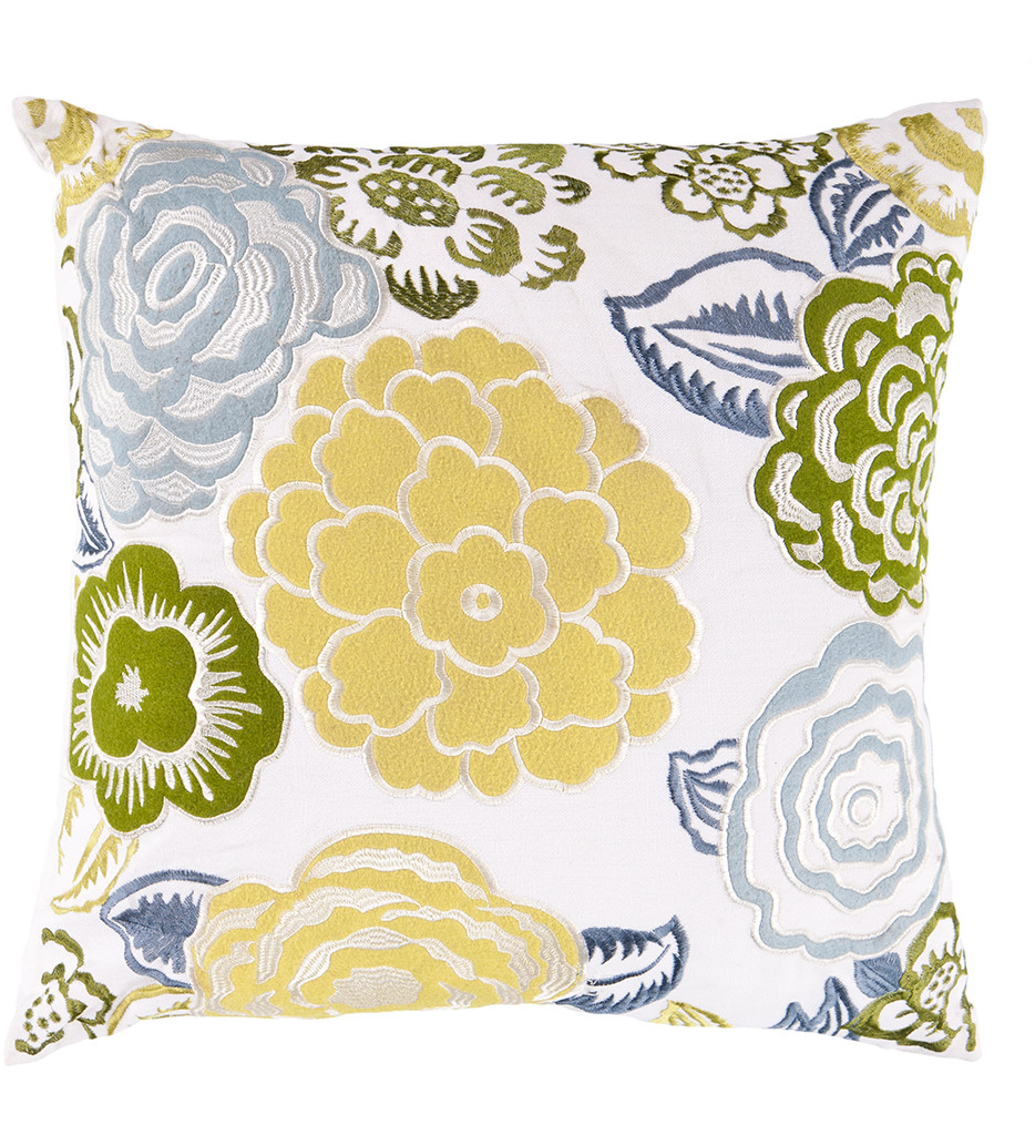 Surya - Blooms Decorative Pillow