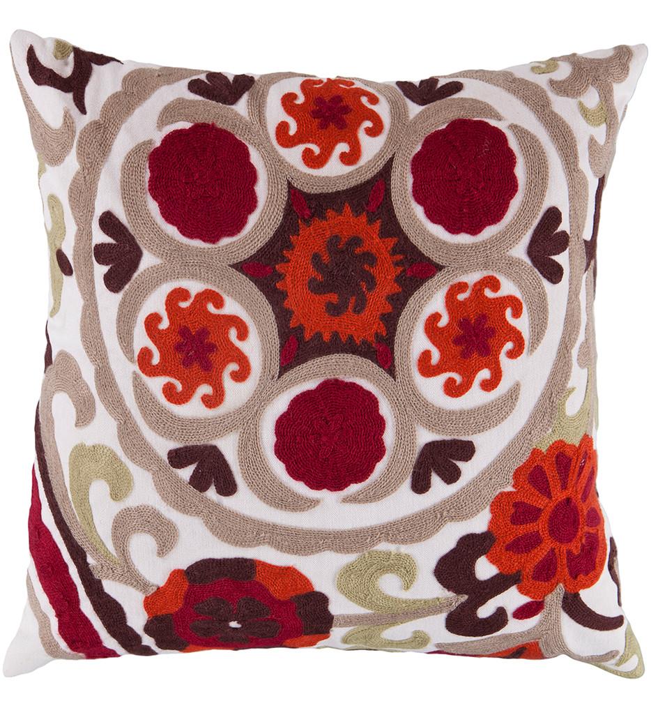 Surya - Paisley Pattern Decorative Pillow