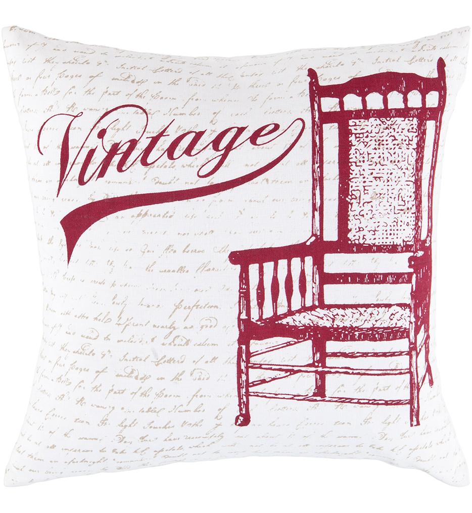 Surya - Vintage Decorative Pillow
