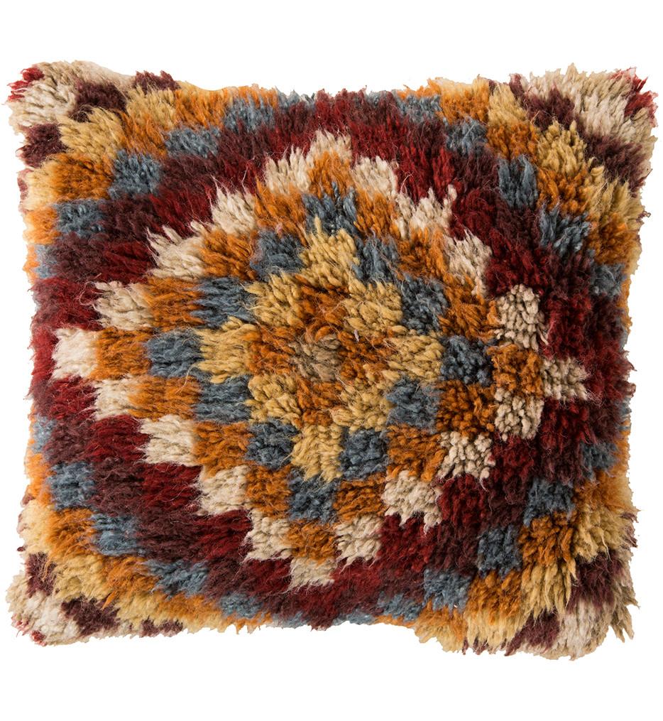 Surya - Southwestern Shag Decorative Pillow
