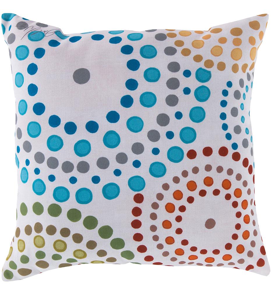 Surya - Dotted Circles Decorative Pillow